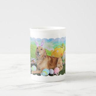 Easter - Golden Retriever - Molly Tea Cup