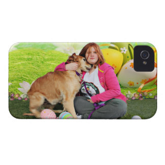 Easter - Golden Retriever - Sandy iPhone 4 Case-Mate Case