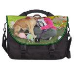Easter - Golden Retriever - Sandy Commuter Bags