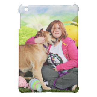 Easter - Golden Retriever - Sandy iPad Mini Covers