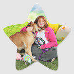 Easter - Golden Retriever - Sandy Star Stickers