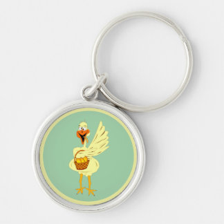 Easter Goose Keychain