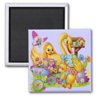 Easter Goose Magnet