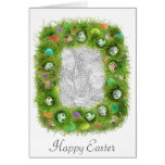 Easter Grass Photo Card