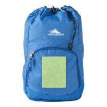 Easter Green Retro Paisley Backpack
