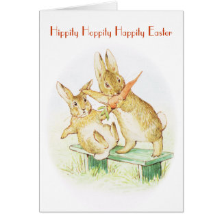 Easter greeting greeting card