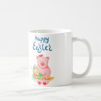 easter greeting cup