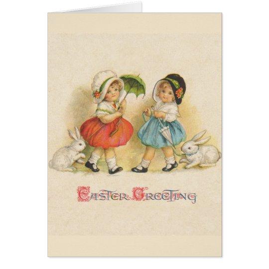 Easter Greeting Vintage Card
