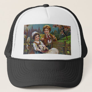 Easter Greetings 1908 Trucker Hat