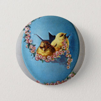 Easter Greetings 1909 Pinback Button
