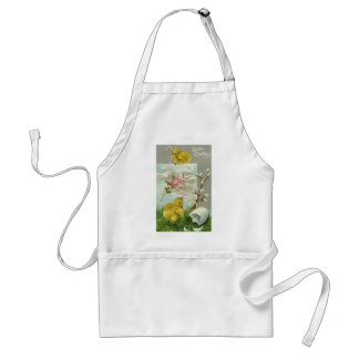 Easter Greetings Adult Apron