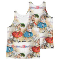 Easter Greetings All-Over-Print Tank Top