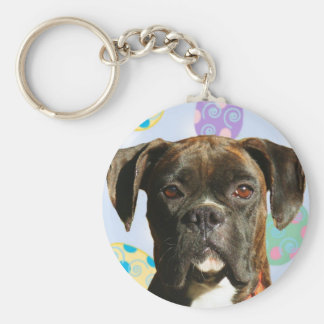 Easter Greetings boxer keychain