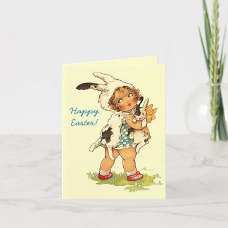 Easter cards personalized easter cards zazzle easter greetings bunny hugs warm wishes card m4hsunfo
