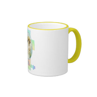 EASTER GREETINGS by SHARON SHARPE Mugs
