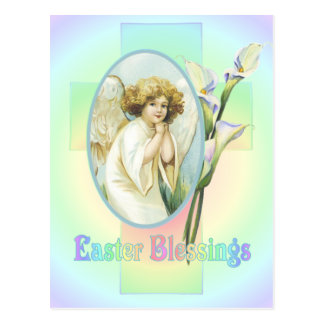 EASTER GREETINGS by SHARON SHARPE Postcard