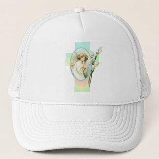 EASTER GREETINGS by SHARON SHARPE Trucker Hat