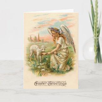 Easter Greetings Card card