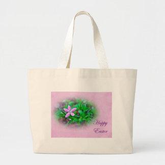 Easter Greetings Deptford Pink Wildflower Bag