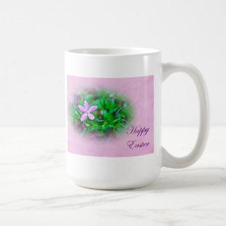 Easter Greetings Deptford Pink Wildflower Mugs