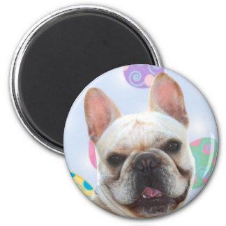 Easter Greetings French Bulldog Magnet