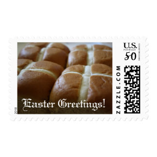 Easter Greetings Hot Cross Buns Stamps