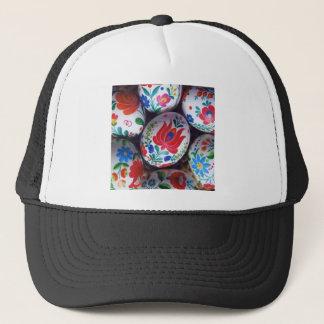 Easter greetings kalocsai eggs trucker hat