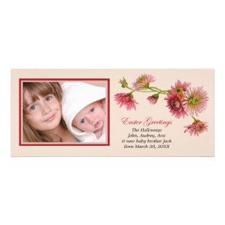 Easter Greetings Photo Card Personalized Invite