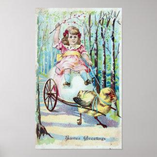 Easter Greetings Poster
