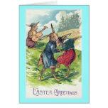 Easter Greetings Vintage Easter Greeting Card