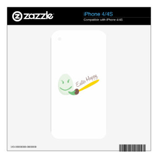 Easter Happy iPhone 4 Skins