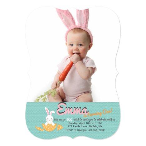 Easter Hatchling Photo Invitation
