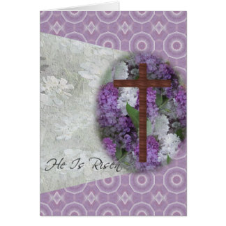 Easter~ He Is Risen Card