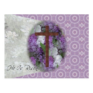 Easter~ He Is Risen Postcard