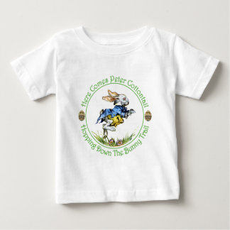 EASTER - Here Comes Peter Cottontail Baby T-Shirt