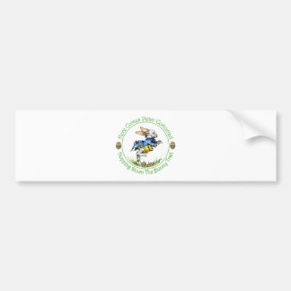 EASTER - Here Comes Peter Cottontail Bumper Stickers