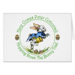 EASTER - Here Comes Peter Cottontail Greeting Card