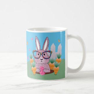 Easter Hipster Rabbit Gift Mug
