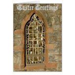 Easter Holiday-Ancient Glass Window Greeting Cards
