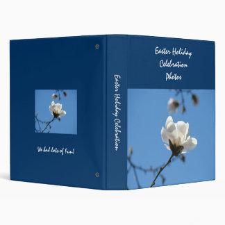 Easter Holiday Celebration Photos binder Blue