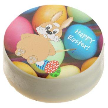 Hawaiian Themed Easter Holiday Chocolate Dipped Oreo