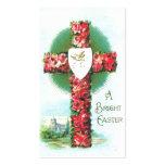 Easter Holy Cross Custom Business Card