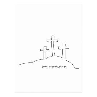 Easter Hope Postcard