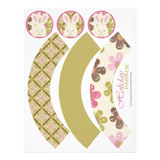 Easter Hunt Cupcake Wrappers 2 Flyer