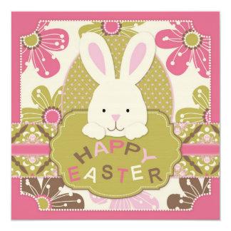 """Easter Hunt Invitation Square 5.25"""" Square Invitation Card"""