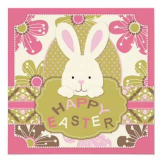Easter Hunt Invitation Square