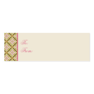 Easter Hunt Skinny Gift Tag 2 Business Card