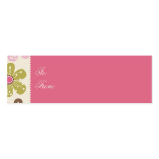 Easter Hunt Skinny Gift Tag Business Cards