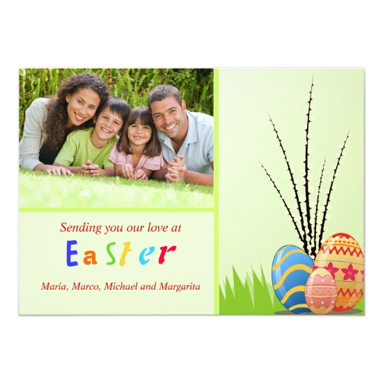 Easter Images Photo Card