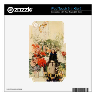 Easter in Paris in 1900s Skins For iPod Touch 4G